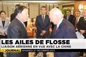 Opération séduction pour Gaston Flosse en Chine