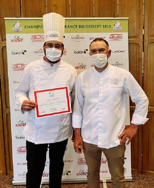 Julien Levenur, 2ème au championnat de France du dessert, région Est