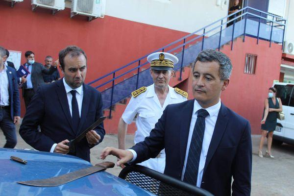 Inauguration brigade gendarmerie Hajangoua visite ministérielle