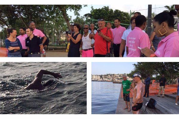 Tour de Martinique à la nage