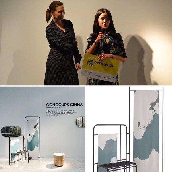 Diana a reçu le prix du public du concours Cinna à la fin de ses études