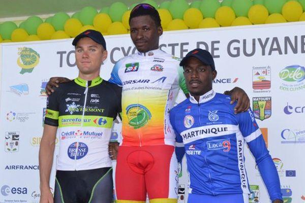 Luis sablon gagne la première étape