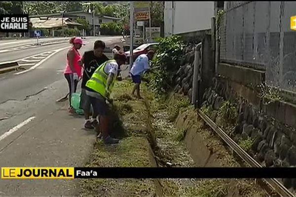 « Gardons notre ville propre » : Faa'a appelle les habitants à se mobiliser