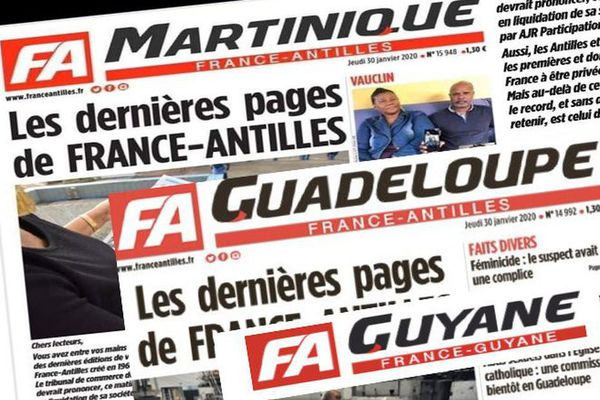 France Antilles et France Guyane