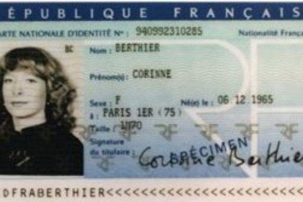 La nouvelle carte d'identité sécurisée