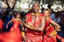 Ambiance du carnaval en Martinique.