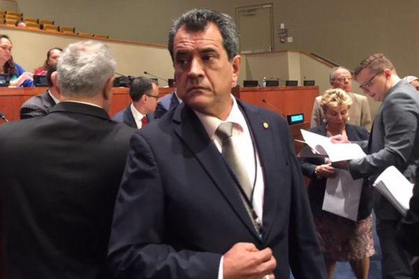 Edouard Fritch à l'ONU