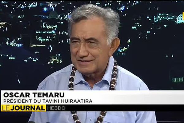 L'invité du journal : Oscar Temaru