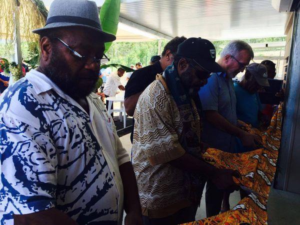 Inauguration Ouégoa centrale de traitement des produits agricoles de la région Grand nord