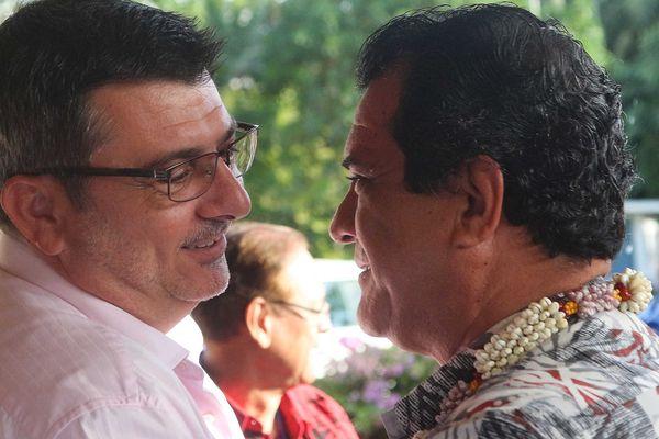 Germain et Fritch Forum des Iles du Pacifique