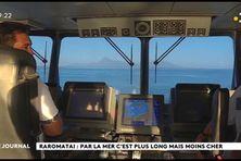 Raromatai : Par la mer, c'est plus long mais moins cher