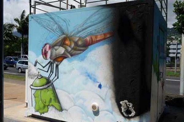 Observatoire ORA vandalisé