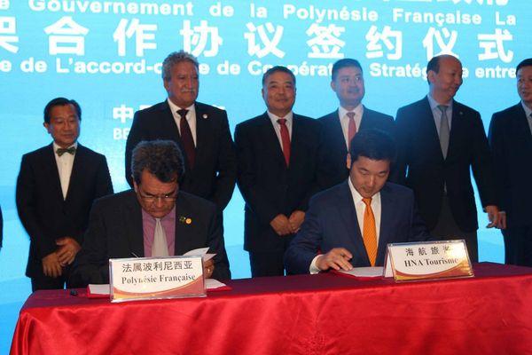Coopération Chine-Polynésie : des avions de Hainan Airlines bientôt au fenua