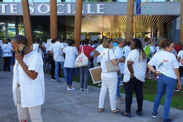 Mouvements des infirmiers