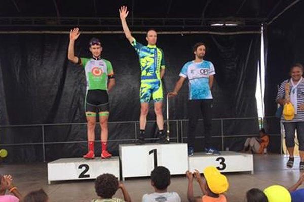 2ème étape du Tour cycliste remportée par le Néo-Zélandais David Rowlands