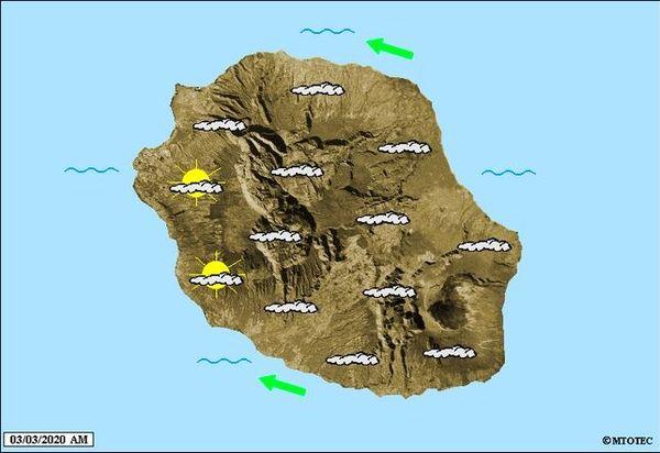 Carte météo 03 03 2020
