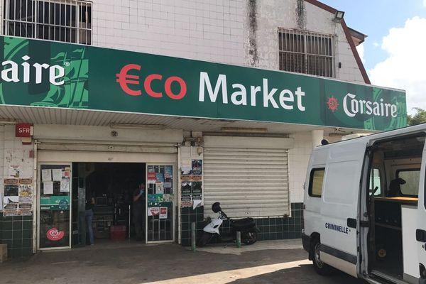 Braquage de l'Eco Market