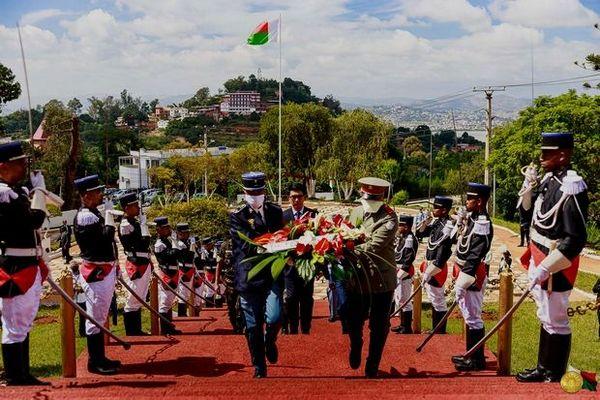 Cérémonie confinée du 29 mars 2020 en mémoire de 1947 Mada
