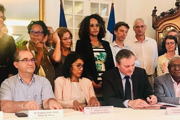 Un contrat local signé pour lutter contre les violences conjugales, sexistes et sexuelles dans l'Est.