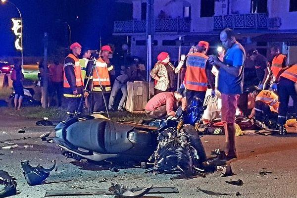 Collision mortelle le 15 décembre à Rémire-Montjoly