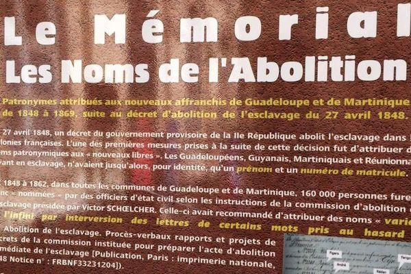 Les noms de l'abolition