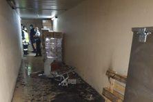 Plusieurs départs de feu signalés au Centre Hospitalier de Cayenne.