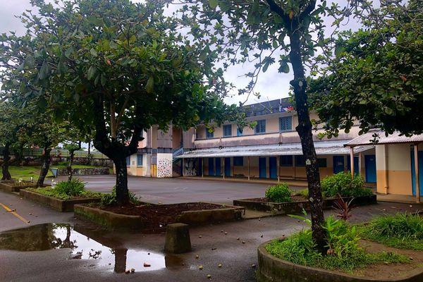 L'école Julie Huet à Sainte-Anne