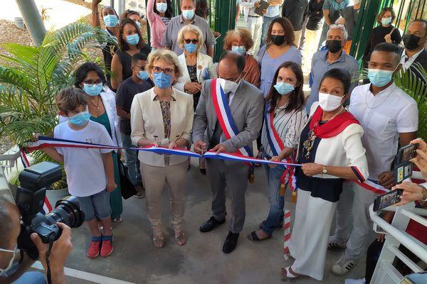 L'inauguration d'une école à Bellemène pour la rentrée scolaire