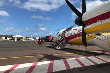 Le Dash 8 est arrivé à La Réunion.