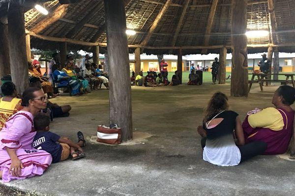 Rentrée de sinternes au lycée des îles, Lifou, 17 février 2019