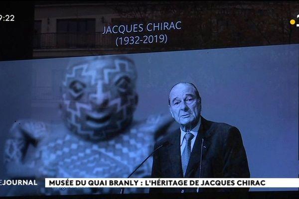 Jacques Chirac, l'homme du musée du Quai Branly
