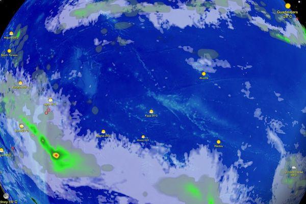 La météo en Polynésie pour votre weekend