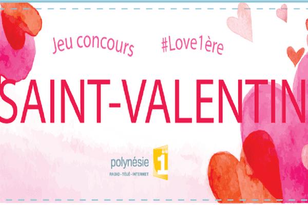 Jeu Saint-Valentin Polynésie 1ère