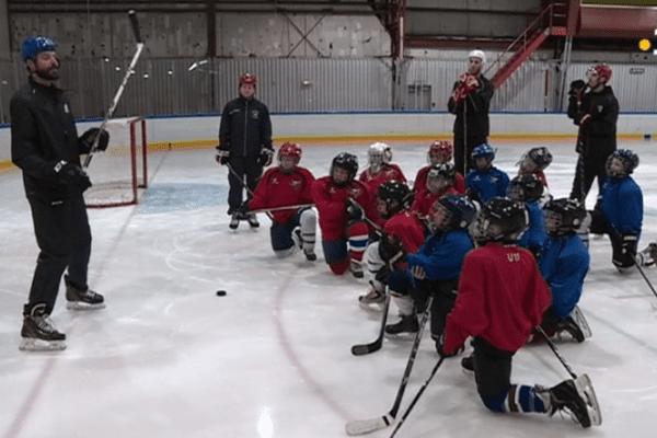 Mathieu Gravel clinique hockey saint pierre