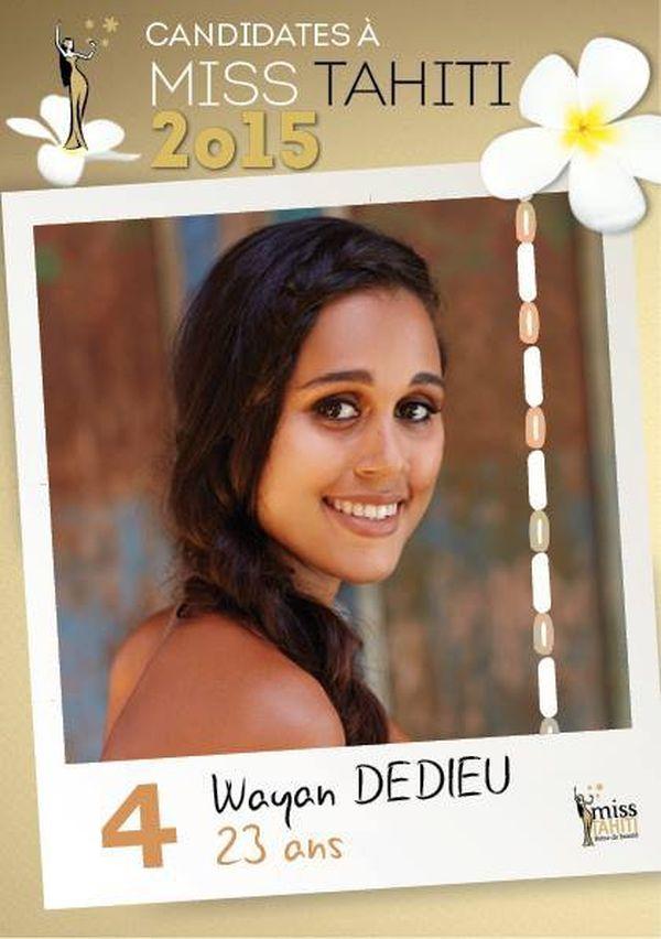 Wayan DEDIEU, candidate n°4