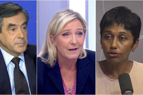 Fillon , Le Pen , Bareigts