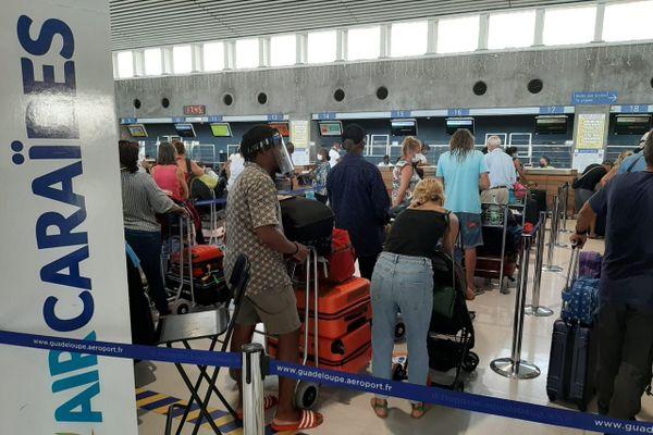 1er départ Air Caraïbes 1