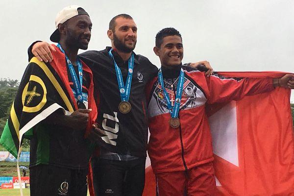 Sililo Kivalu médaille de bronze au décathlon