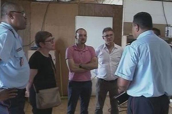 La délégation de la sécurité civile en visite à Futuna