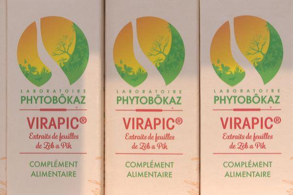 Le complément alimentaire Virapic