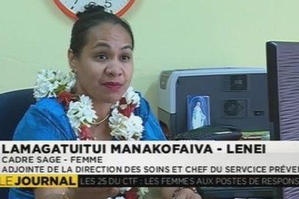 Ammalia Lamagatuitui  cadre sage femme