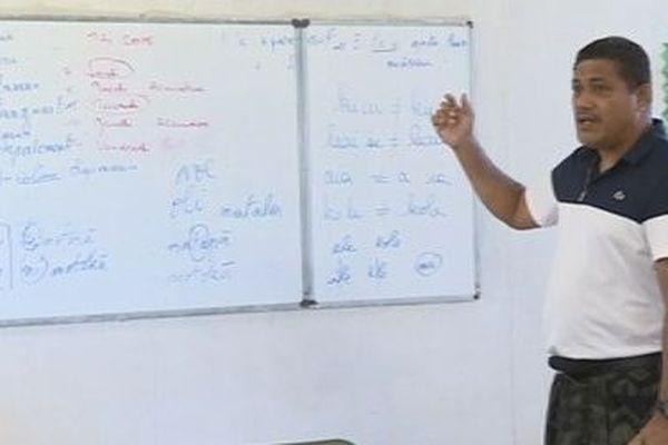 formation en langue futunienne pour les enseignants