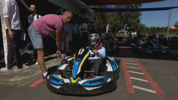 Jean Todt karting