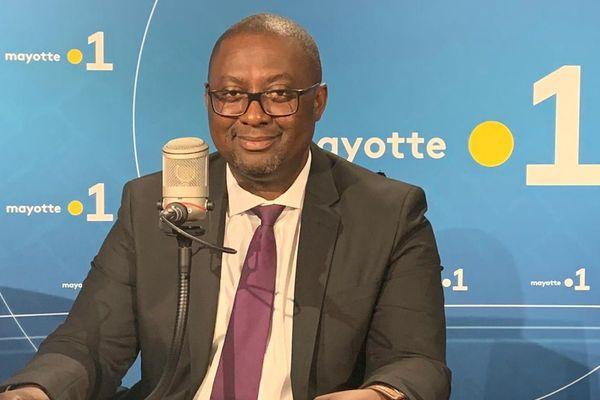 Mohamed Moindjie, l'adjoint au maire de Mamoudzou
