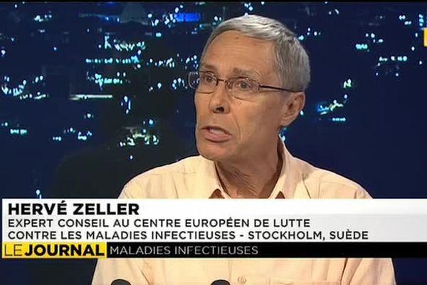 Hervé Zeller, spécialiste des fièvres hémorragiques, invité du JT