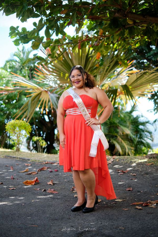 Miss Ronde 2019 : Ombline Hoareau, candidate n°6