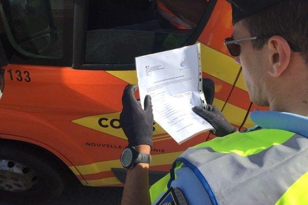 Contrôle gendarmerie confinement coronavirus