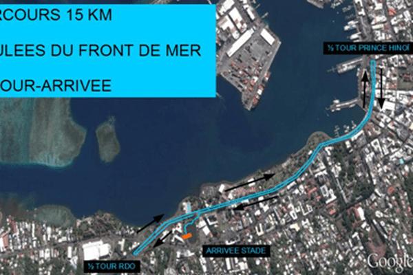 Foulées du front de mer : des embouteillages prévus