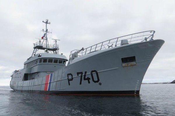 Le Fulmar (1/5) : Un patrouilleur solitaire basé à Saint-Pierre et Miquelon