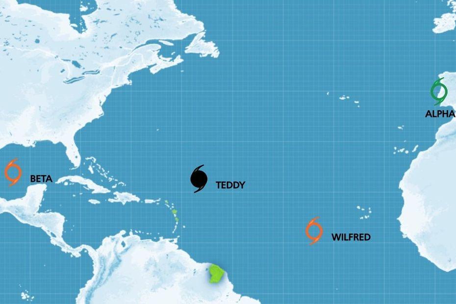 La liste des prénoms choisis pour la saison cyclonique 2020 est officiellement épuisée, place à l'alphabet grec - Guadeloupe la 1ère